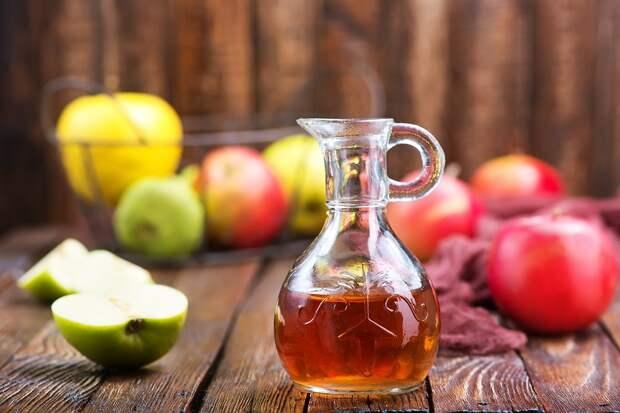 Яблочный уксус: свойства, изготовление, применение и лечение