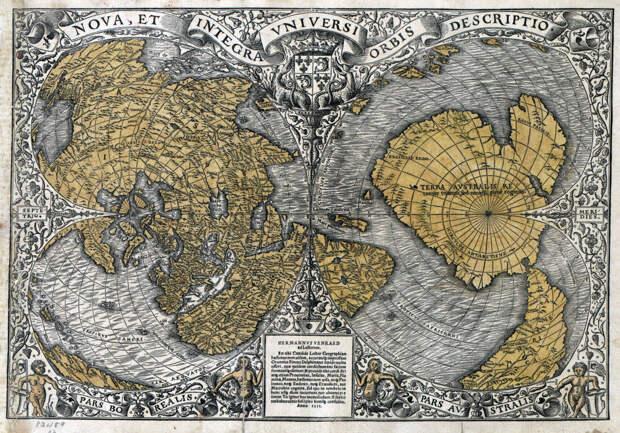 Кто и когда составлял древние географические карты?
