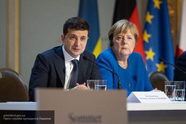 Меркель пообещала 150 млн евро Зеленскому на борьбу с коронавирусом