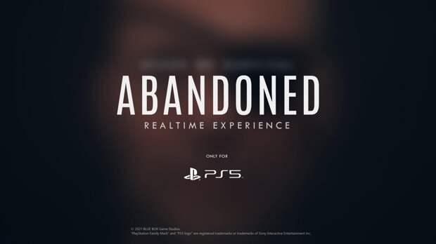 Игровая индустрия - Новый тизер Abandoned дразнит фанатов Metal Gear Solid