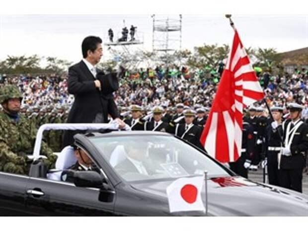 Россия и Китай встревожены милитаризмом Японии