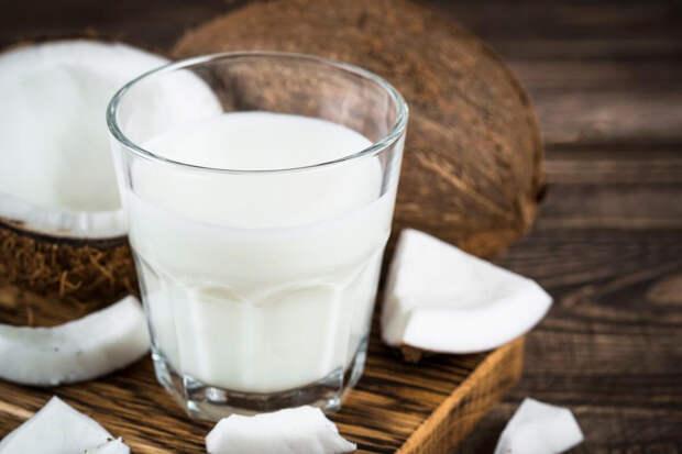 Курица в кокосовом молоке с тыквой и рисом