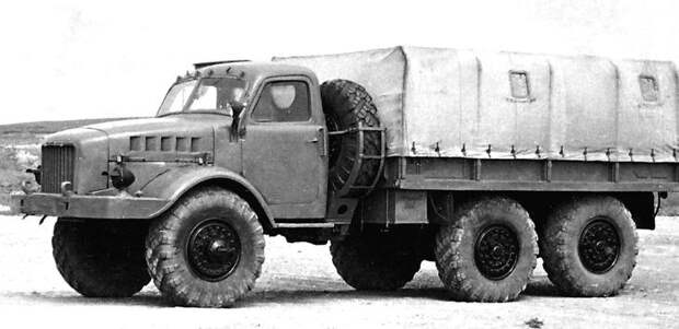 Малоизвестные послевоенные грузовики - ГАЗ-68, ЗиС-121, Урал-381, НАМИ-020 и другие