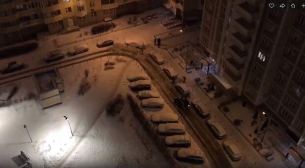 Шум от снегоуборочной техники помешал жителям Марфина отдыхать