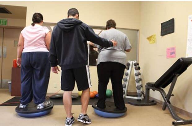 Физическая активность оказалась вредной для людей с ожирением