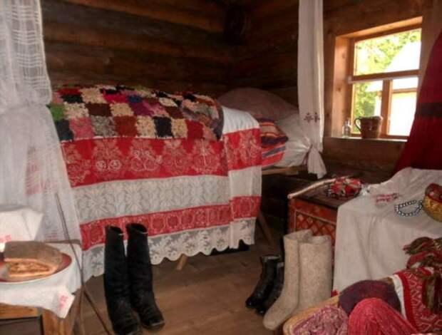 Традиции первой брачной ночи в старой Руси