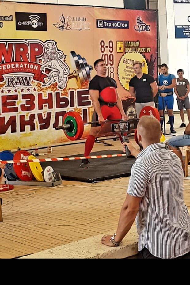 Севастопольский полицейский стал победителем Всероссийского турнира по армлифтингу