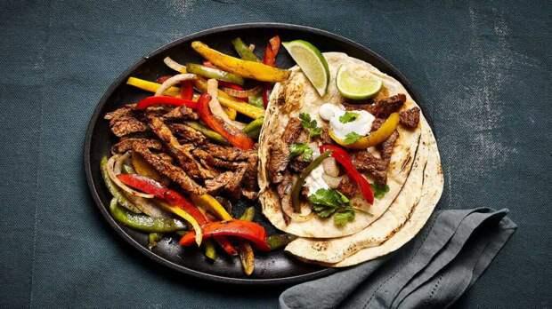 Фахитас с говядиной: рецепт мексиканского фаст-фуда