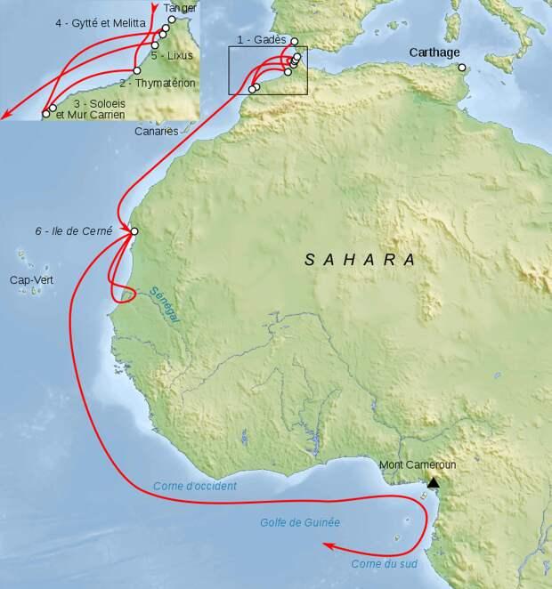 Мореход Ганнон из Карфагена: знаменитое путешествие, о котором мало что известно