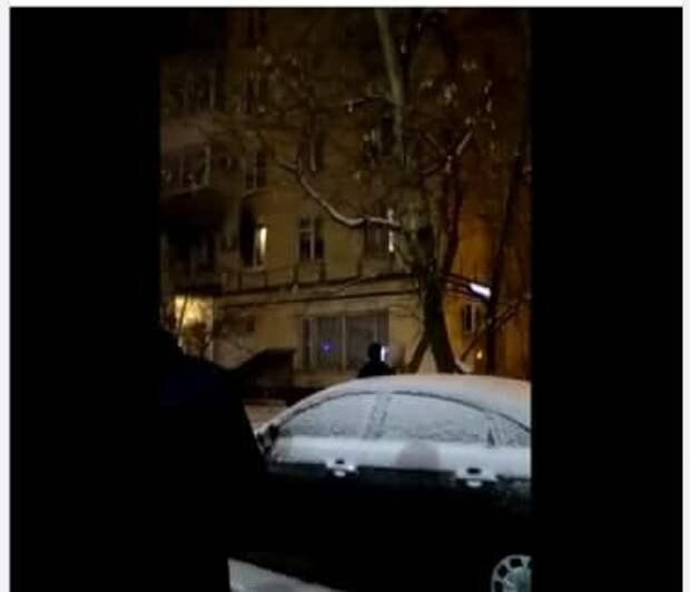 Спасатели потушили возгорание в доме на улице Маршала Тухачевского