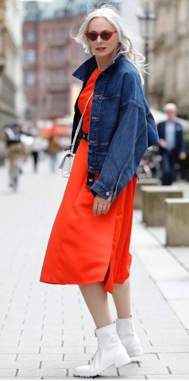 Беспроигрышные сочетания цветов в одежде, чтобы выглядеть эффектно после 50 лет