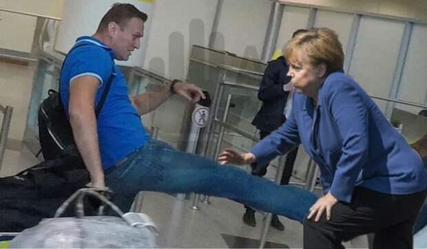 Европейцы покопались в прошлом Навального и осознали, какого уродца пытался пригреть Берлин