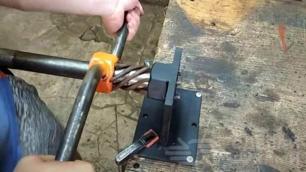 Как сделать бюджетный станок для холодной ковки