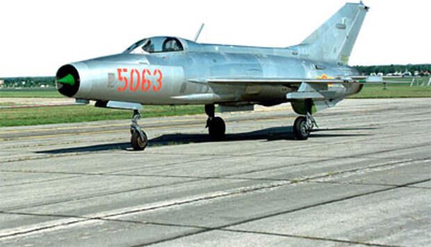 К октябрьской войне 1973 г. основной истребитель ВВС Египта и Сирии МиГ-21 уже не в полной мере соответствовал требованиям современного воздушного боя. Фото US Air Force