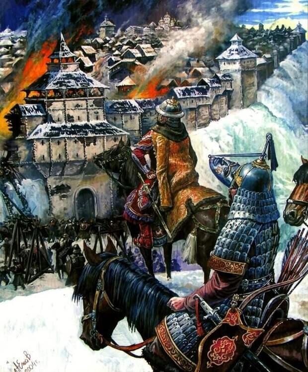 Завоевание монголами Южной Руси