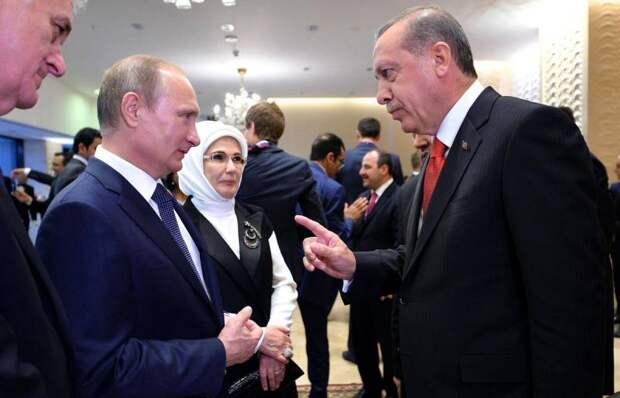 Эрдоган заявил о поддержке Путиным его решения по собору Святой Софии