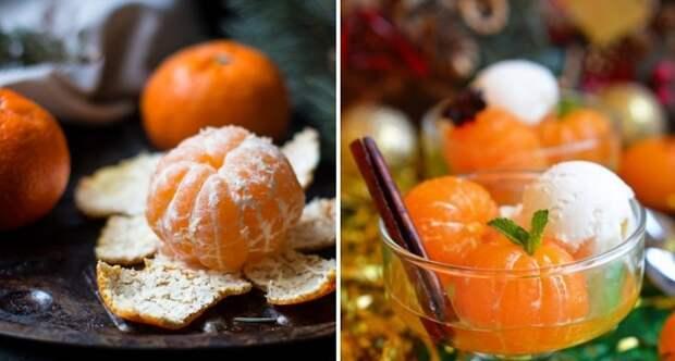 десерт из мандаринов