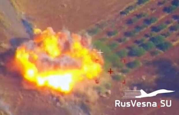 Армия России атаковала тайные базы иностранных наёмников в Сирии