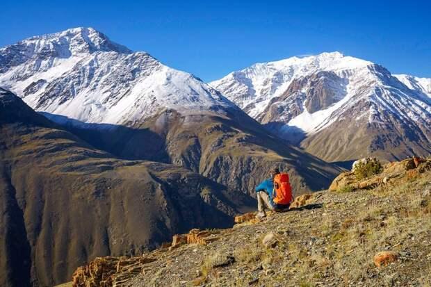 Горный пейзаж Ваханский коридор, афганистан, вид, горы, природа, путешествие, фотомир