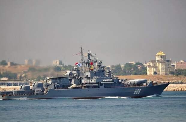 Десантный корабль США, вошедший в Черное море, взят под контроль