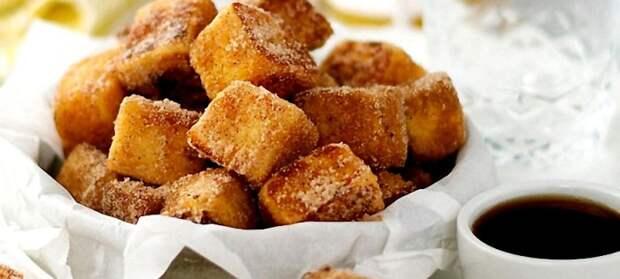 Французские тосты с корицей. \ Фото: cookjournal.ru.