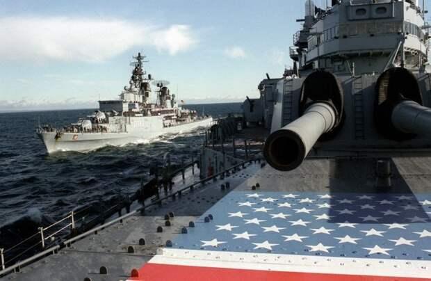 Силы НАТО в Черном море. Источник изображения: https://vk.com/denis_siniy