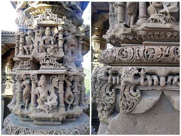 Храмы Кираду