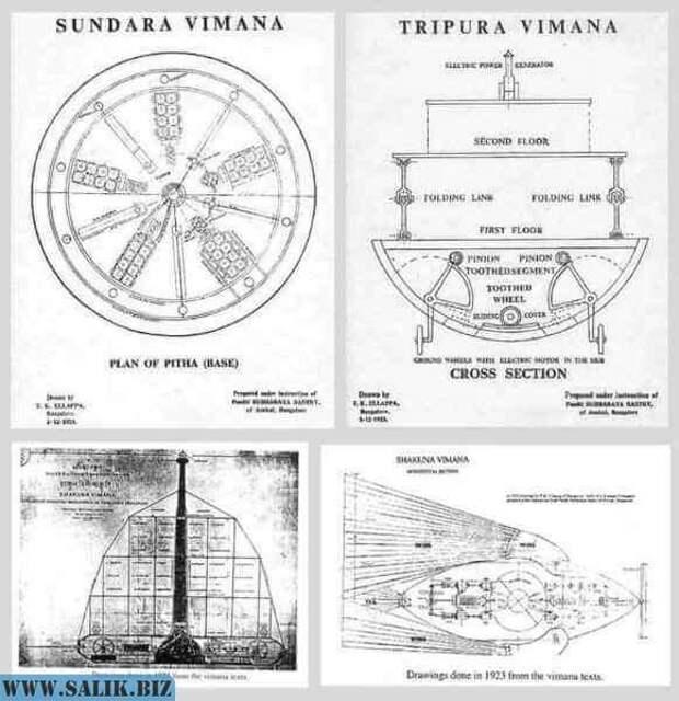 Военная летающая техника, атомное оружие и НЛО существовали 15000 лет назад