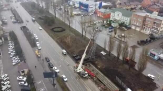 «Россети Юг» поплану закончили демонтаж ЛЭП намосту Малиновского вРостове