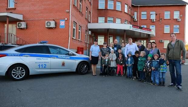 Для воспитанников детсада №40 провели экскурсию по музею Госавтоинспекции