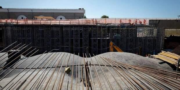 Собянин назвал сроки завершения реставрации исторической ГЭС-2