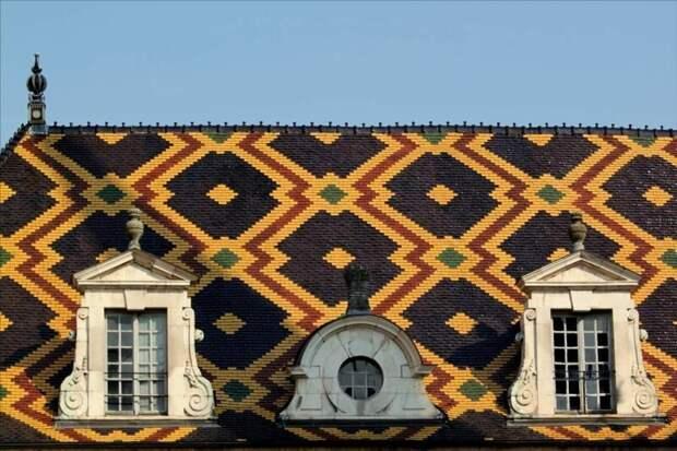 Отель-Дьё — средневековая больница в Боне Материалы, Фабрика идей, интересное, красиво, крыши, необычное, стройка