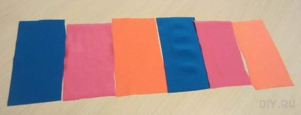 Лоскуты эластичной ткани