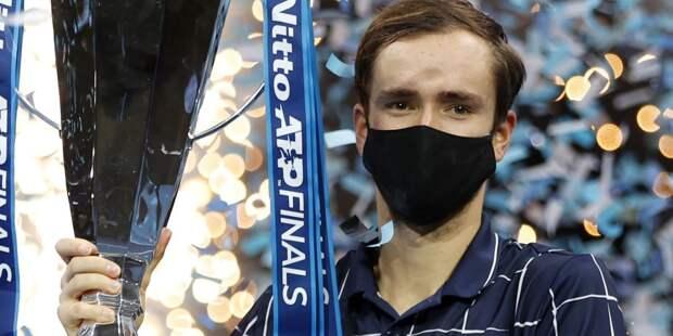 Итоговый турнир ATP выиграл российский спортсмен
