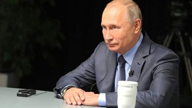 Путин: нужно сохранить баланс между защитой личных данных и раскрытием информации