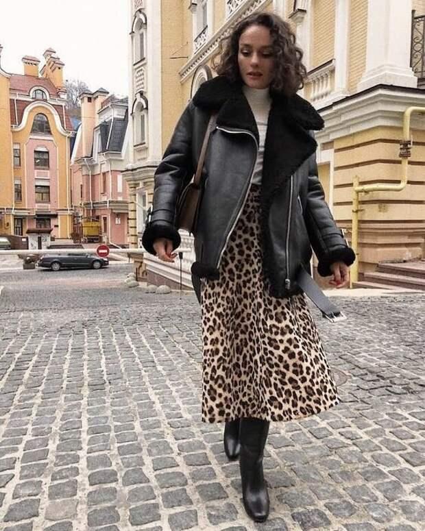 Леопардовый принт 2021: Стильные идеи на каждый день