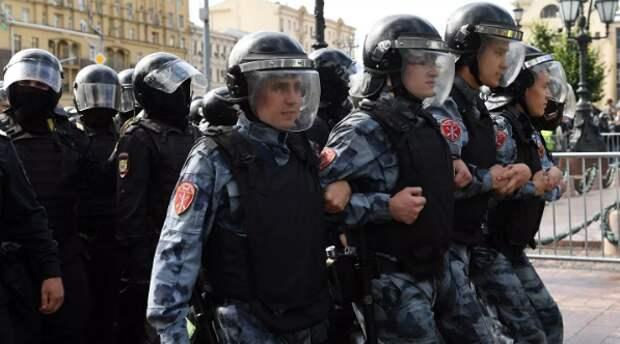 В Госдуме предложили увеличить штраф за неповиновение полиции на митингах