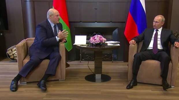 Вчера состоялась встреча Путина и Лукашенко