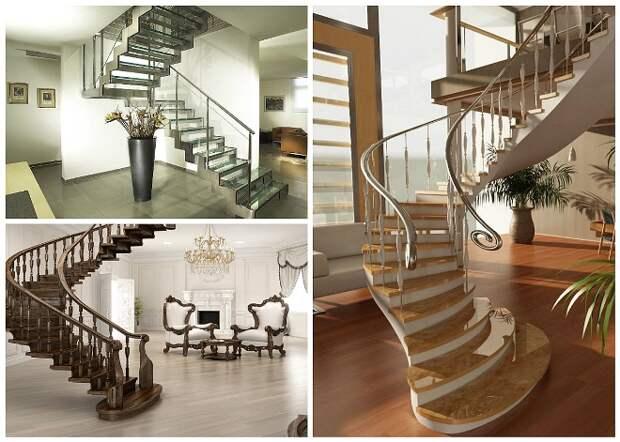 Дизайн лестниц: виды, материалы и способы декорирования (85 фото)