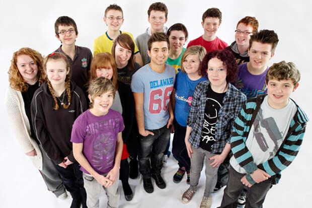 Группа школьников