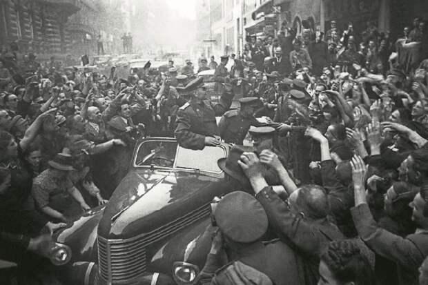 Мэр столицы Чехии -  Прага в 1945 году освободила себя сама