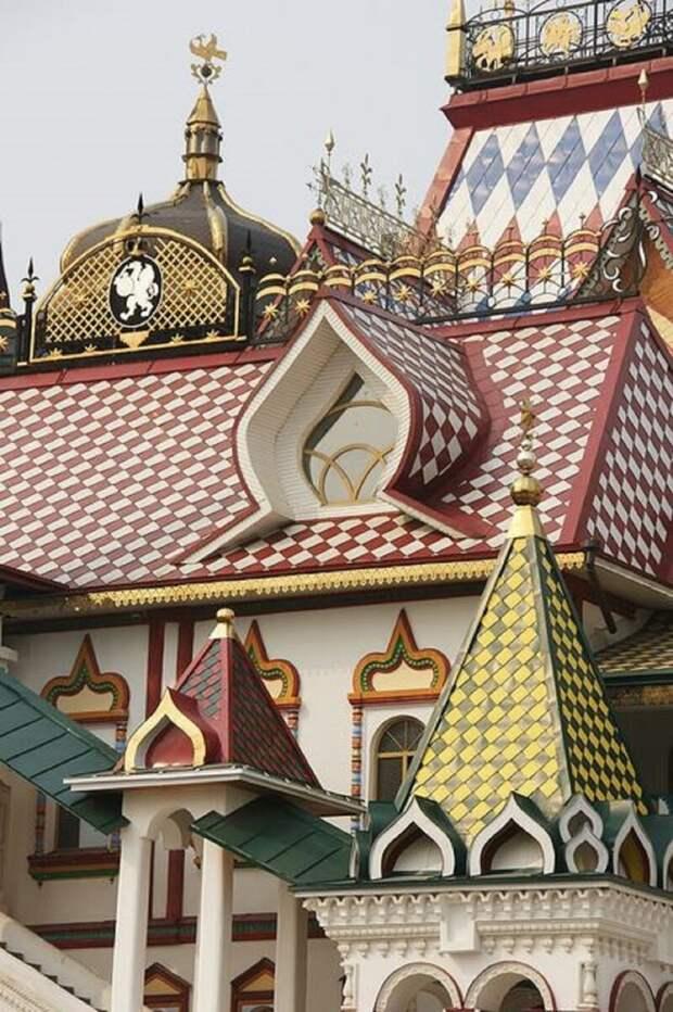 Кремль в Измайлово Материалы, Фабрика идей, интересное, красиво, крыши, необычное, стройка