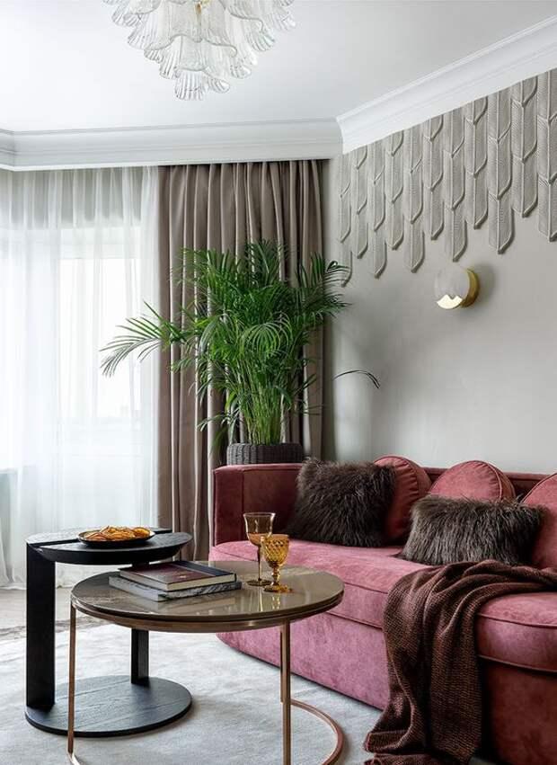 Стиль арт-деко в интерьере: правильный подбор декора окна + фото