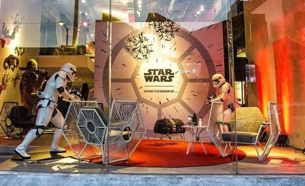 Звездные войны: мебель, вдохновленная любимыми героями
