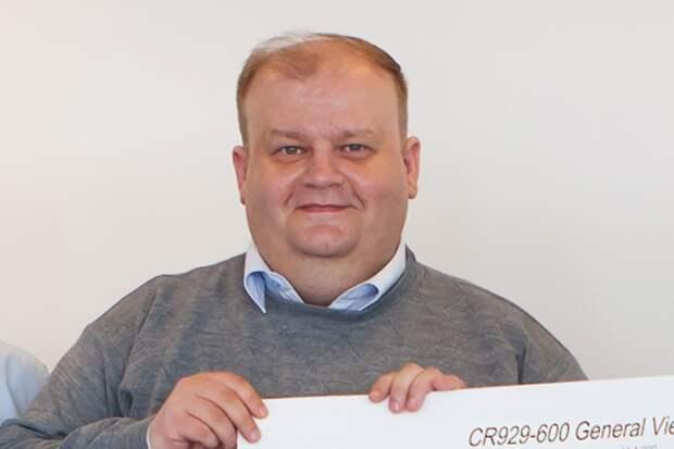 Максим Литвинов: «CR929 – проект амбициозный, но думаю, что мы справимся»