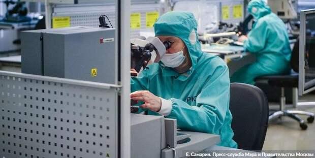 Собянин увеличил число якорных резидентов технопарка «Отрадное» Фото: Е. Самарин mos.ru