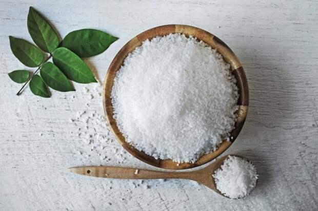 В зимнее время или при пониженной температуре воздуха используют соль вместо сахара / Фото: Яндекс.Новости