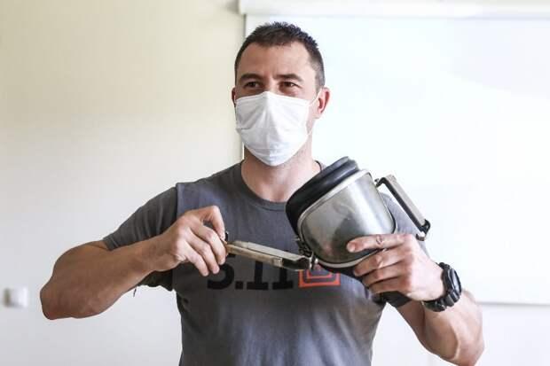 Московские пожарные и спасатели повысили профессиональное мастерство