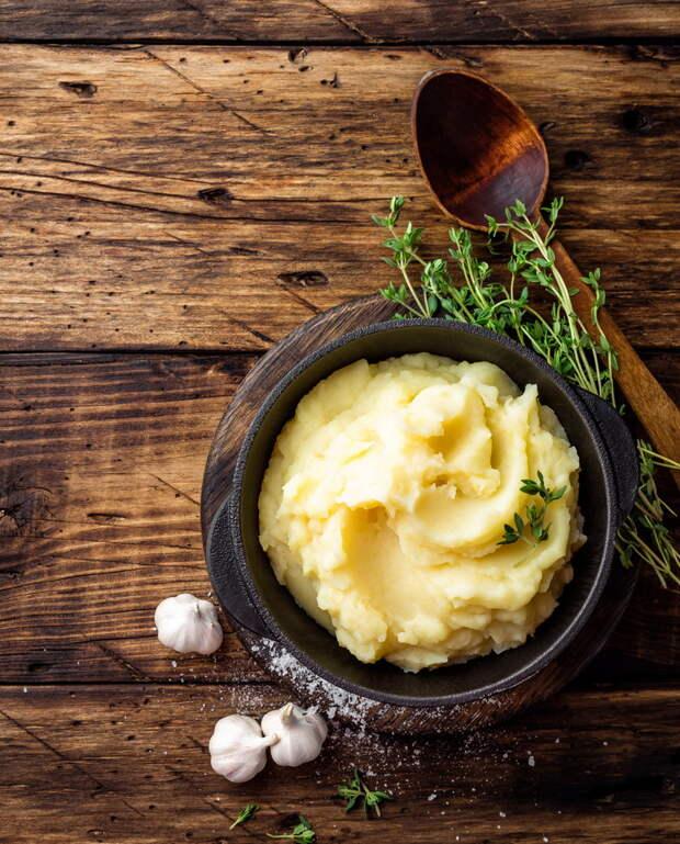 Как приготовить самое вкусное картофельное пюре: нежное и воздушное