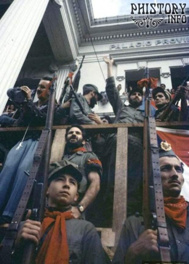 Кубинская революция в цвете.  Январь 1959 года.